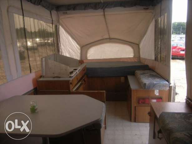 caravan as small house, fully equiped المتن -  6