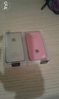 2 covers: white and pink, for iphones 4/4s, totally new, together for