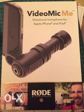 Rode mobile microphone