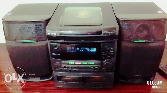 AIWA Stereo System Model #CX-NV50U AIWA001