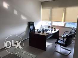 Ref (PE1.O.22), 88 m2 office for rent in Sin El Fil (Lux Building)