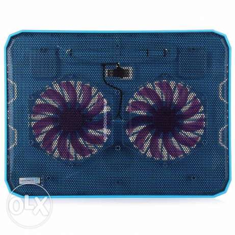 CoolCold K19 USB Notebook Cooling Fan