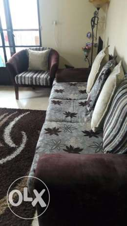 bedroom and salon for sale