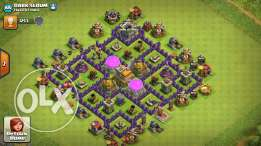 Clash of clans towhal 8 /7