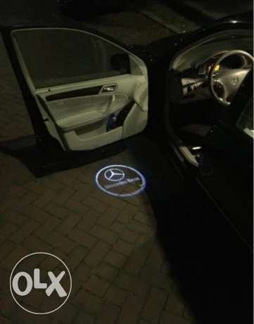 laser projector light for Mercedes Benz