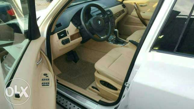 Bmw X3 3.0si full options 2008 ajnabieh very clean new arrival الروشة -  3