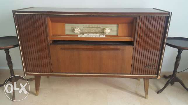 Antique Blaupunkt radio and disk player (working)