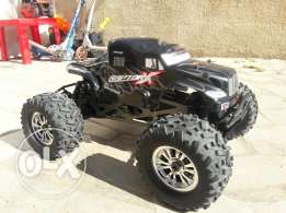 Jeep monster truck nitro 4x4