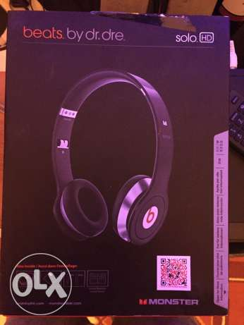 beats by dr.dre solo hd brand new not used حازمية -  1