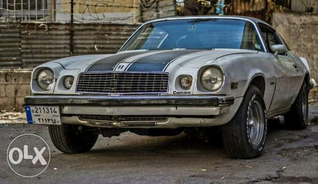 Camaro second generation 1975 برج حمود -  2