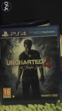 Uncharted 4 ps4 for sale or trade شويفات -  1