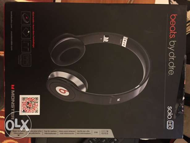 beats by dr.dre solo hd brand new not used حازمية -  2
