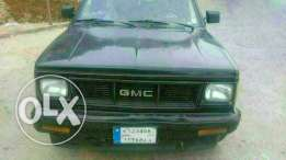 GMC JIMMY MODEL 1988 BLACK MOTOR 4.3 with special plate number markazi