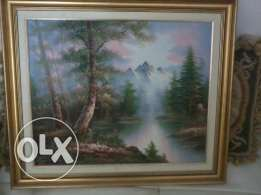 beautifull FramePainting, 10 years old, 70cm, 100$ negotiable
