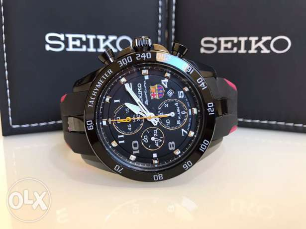 Seiko - BARCELONA (brand new from duty free price was 500$)