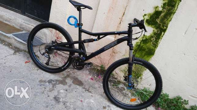 Bicycle Btwin RockRider 6.3 full suspension