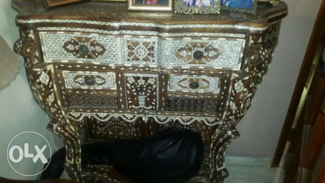 More than 40 years old hand made Console