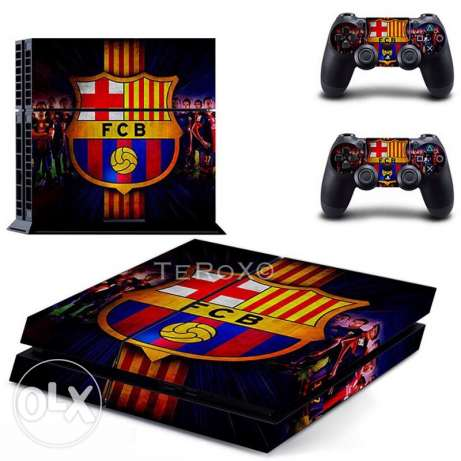 Sony Ps4 console skin
