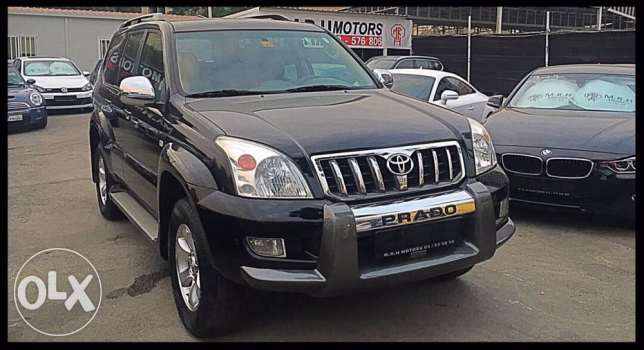 Toyota Prado VX 2009 Black Fully Loaded!
