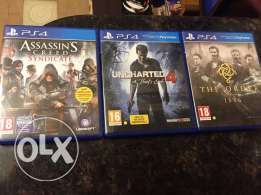 3 CD PS4 pack