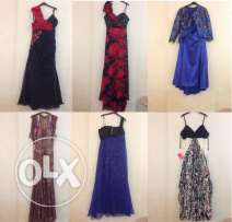 Dresses used only once فساتين سهرة