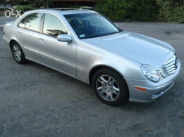 mercedes e 320 sliver 2003 silver color for sale