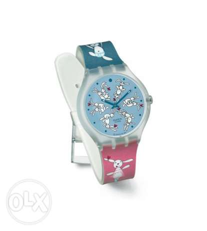 swatch bunnysutra watch - collectible - limited edition