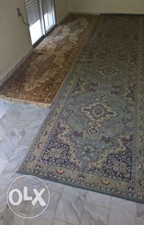 2 Authentic Spanish carpets ٢ سجاد اسباني اصلي بسعر مغري