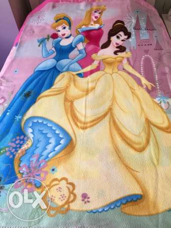 Disney princess blanket 150*107cm from USA