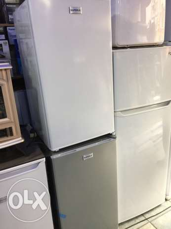 refrigerator 5 feet with mini freezer ( new in box)
