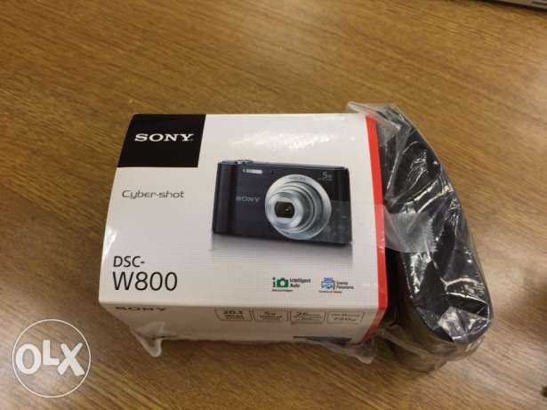 Sony camera 20 megapixel + 8GB SD card + case