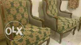 Salon big one and four separate chair