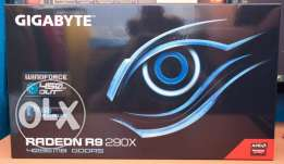 For sale vga r9 290x. 4gb 5ddr Gigabyte