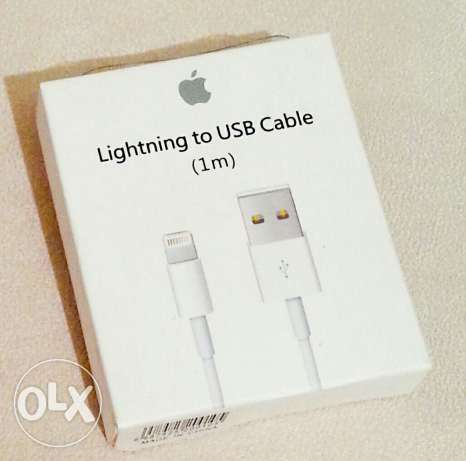 Apple lightning to USB cable المرفأ -  1