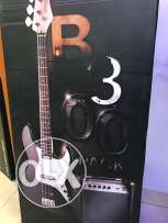 Guitar bass package