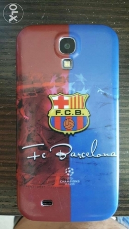 Samsung S5 Barcelona cover champions League- used but like new