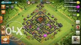 Coc th9 lvl 90 still playing it building up