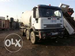 iveco concrete mixer truck, diesel, model 1999, MP380E