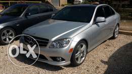 2009 Mercedes C300 AMG Look Silver