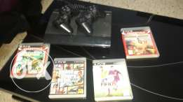 Ps3 180$ with 4 cds
