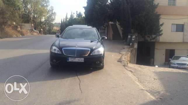 mercedes s350 L look AMG, with plate number 97097 راس  بيروت -  1