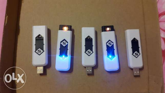 5 rechargeable lighters for 20$ only