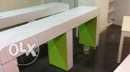 benches,tables,closets very good prices