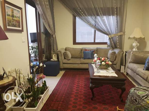 Furnished apartm.for sale in zouk mikael