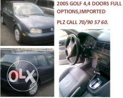 2005 GOLF 4 , full options imported