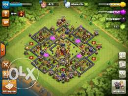 clash of clans th10 lvl154