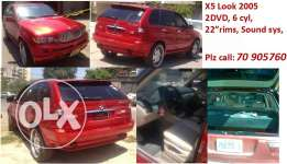 X5 BMW Look 2005 / 6 cyl fully loaded, music sys...