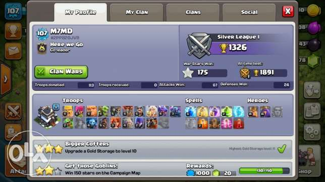 clash of clans towen hall9max