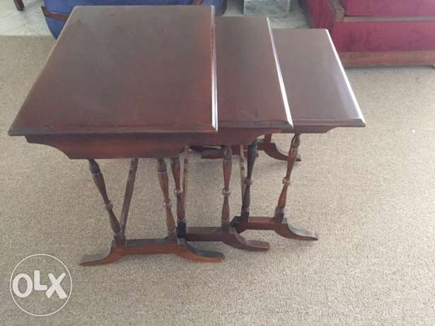 tables gigognes (طاولات) set of 3
