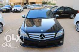 Mercedes C-Class 300 Ajnabi Panoramic Blk On Blk